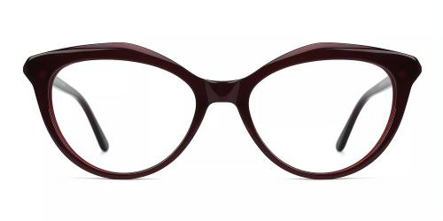 Acetate Cat-eye Clip-on Sets Glasses