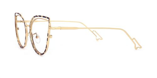 Designer Cateye Medium Eyeglasses