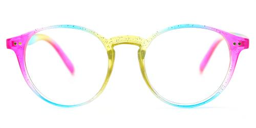 Oval Classic Full-rim Tr90 Medium Glasses