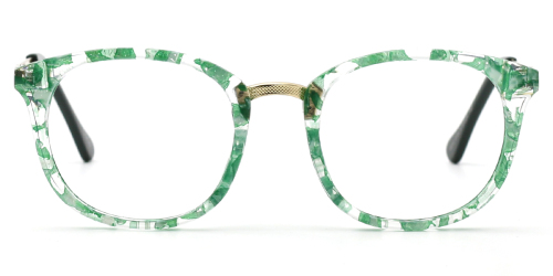 Rectangle Sophisticated Mixed Materials Glasses