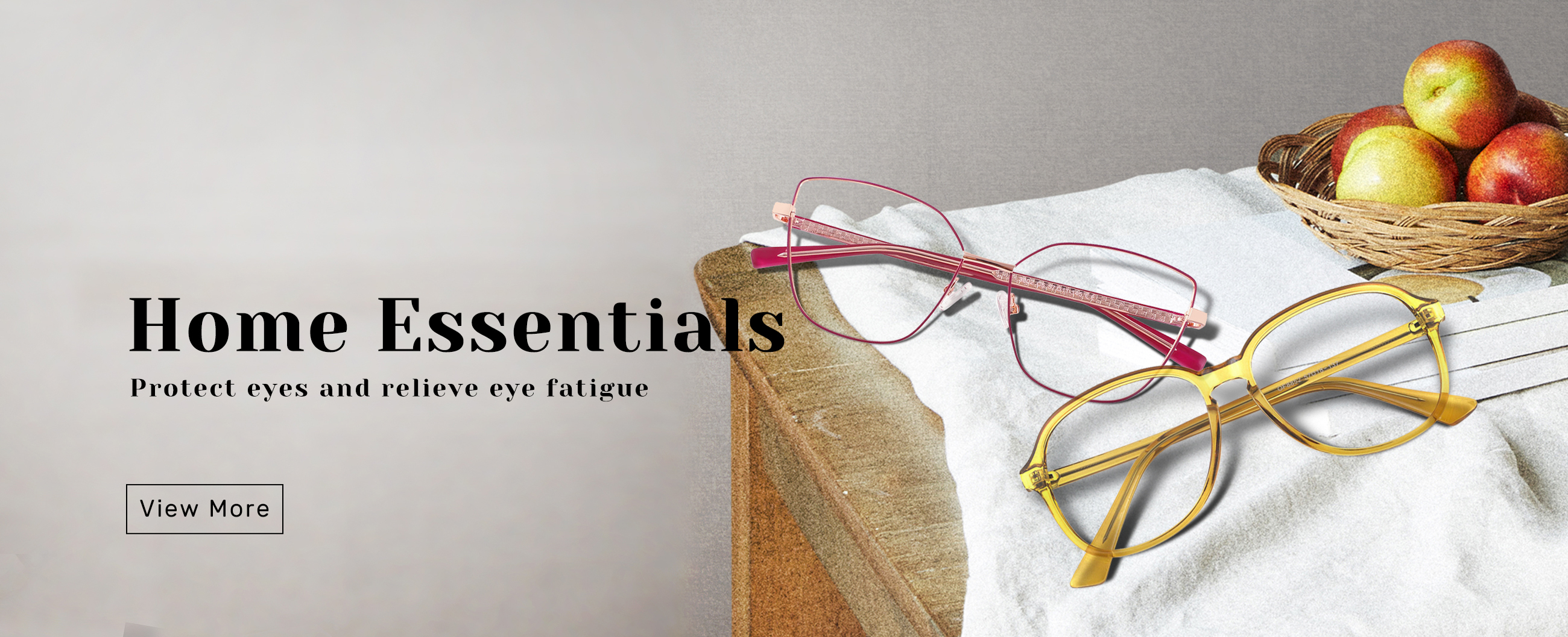 Eyeglass by home