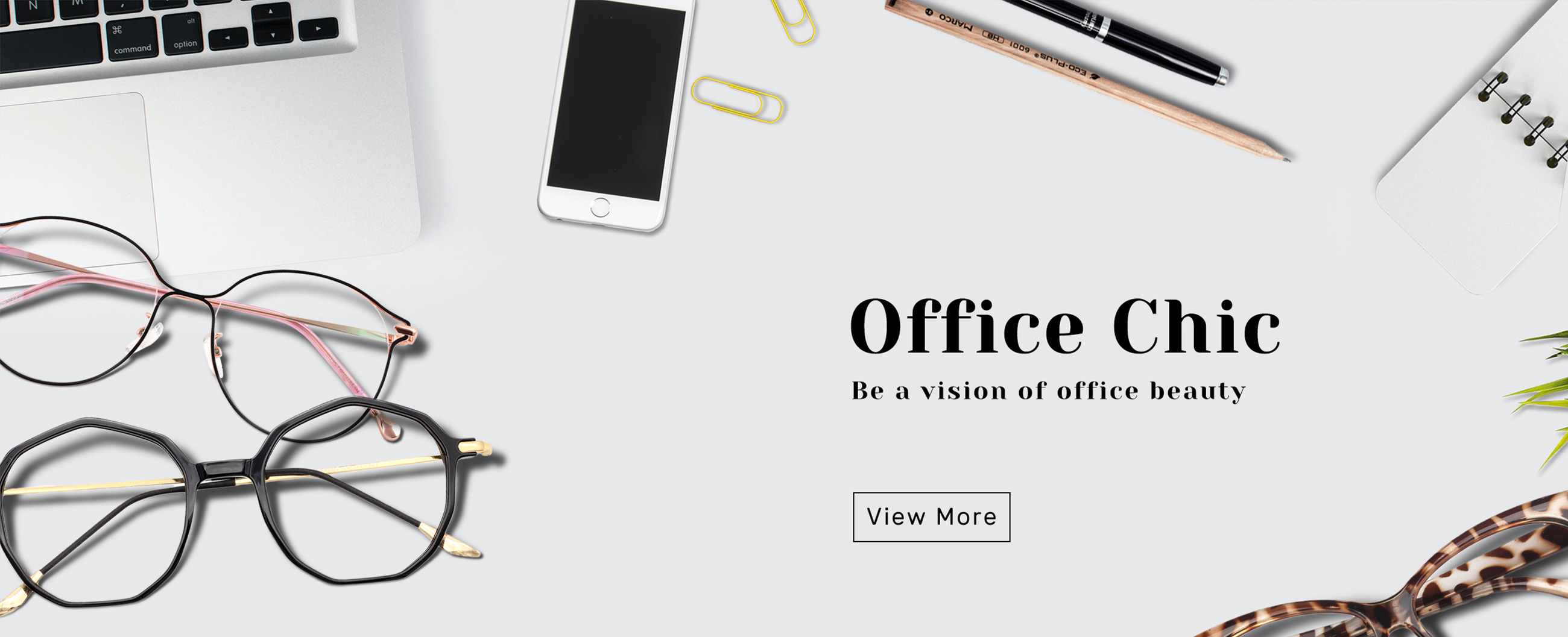Eyeglass by office