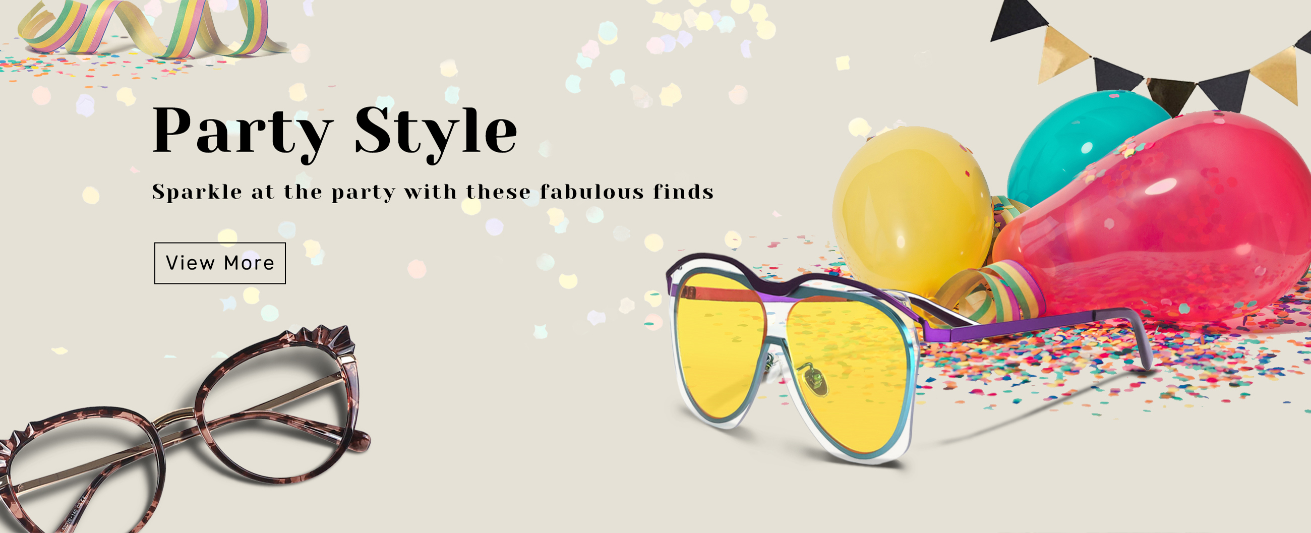 Eyeglass by party